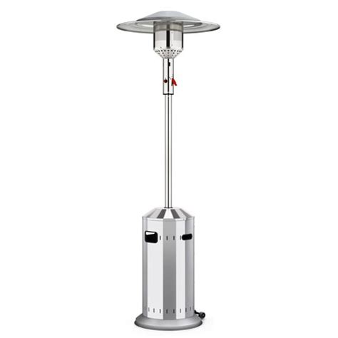 elegance patio heater in stainless steel the bbq store spain