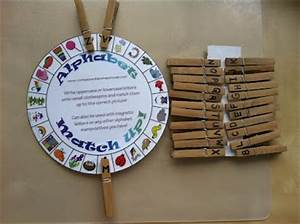 alphabet wheel clothespin match lartsletter names With wheel letters
