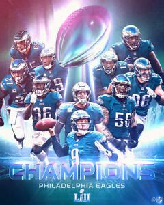 philadelphia eagles super bowl  sblii poster