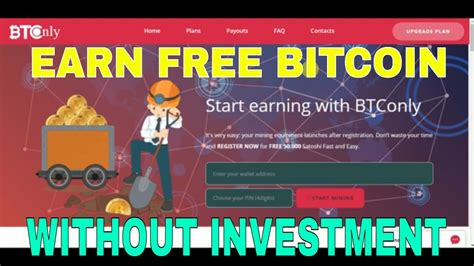 bitcoin mining without investment new bitcoin mining without investment