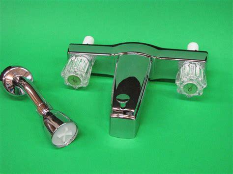 Rv Shower Parts - mobile home rv parts tub shower faucet quot set quot 2 valve