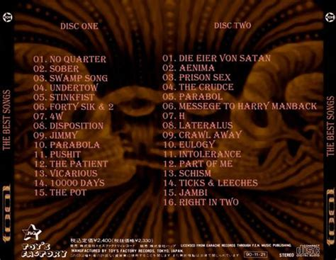 Tool  The Best Songs (2014, Progressive Rock) Download