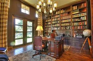 28, Breathtaking, Home, Library, Designs, Pictures