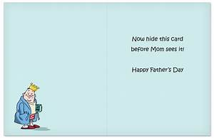 King Of The Castle Cartoons Father's Day Paper Card D.T. Walsh