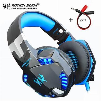 Headphones Gaming Headset Earphones Stereo Pc Phone