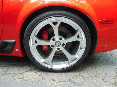 These Badass Wheels And Tires Can Be On Your Corvette
