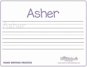 Handwriting worksheets for kindergarten names preschool for Learning to write paper template