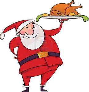 8331370 santa with turkey 1 rob rattray