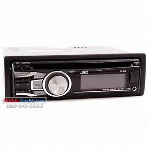 Jvc Kd Mp3 Recever With Front Aux Input And