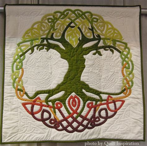 Tree Of Paradise Quilt Template Pattern by Tree Full Of Life 34 X 34 Quot By Susan Cronenwett Oregon