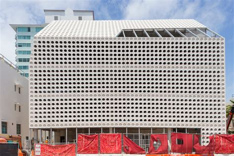 oma   break  ground   faena car park