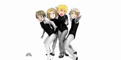 Hetalia Aph England Bad Prussia Trio Touch