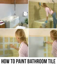 Can You Paint Bathroom Tile by How To Paint Bathroom Tile The Right Way Update The