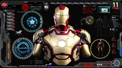 Iron Man Jarvis Live Wallpaper