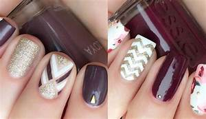 24 Trendy Fall Nail Design Ideas | Roses u0026 Rings - Part 2