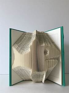Fish, Sculpture, Carved, Pages, Folded, Book, Pages, Into, Fish