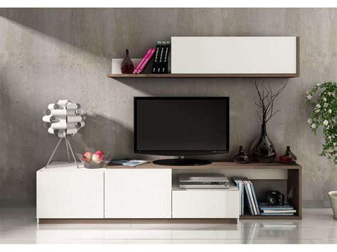 conforama cuisine ottawa meuble tv 240 cm finition mélaminé otawa coloris pin foncé