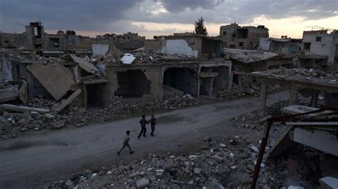 nationwide power blackout hits war torn syria  times