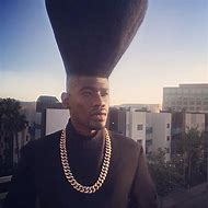 White People with High Top Fade