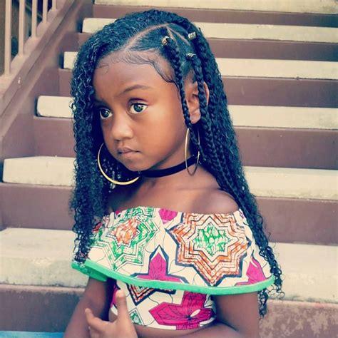 box braids girls hairstyle pinterest