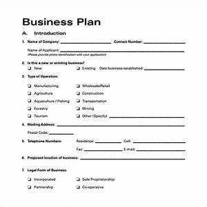 Bussines plan template 29 download free documents in for Free business plans templates downloads