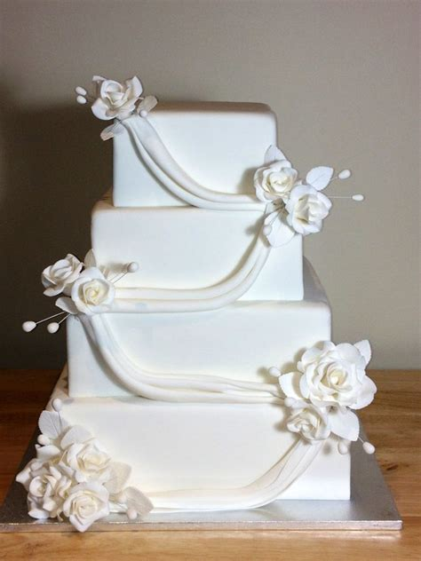 photo jpg square wedding cakes wedding cake pictures