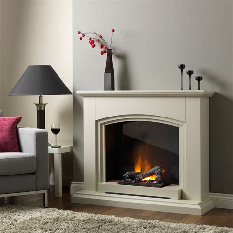 siena sandstone electric fireplace suite lounge