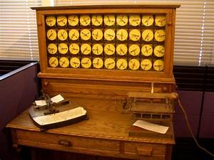 Herman Hollerith's Tabulating Machine   At the Smithsonian ...