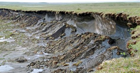 peace sign home study shows global permafrost melt underway while