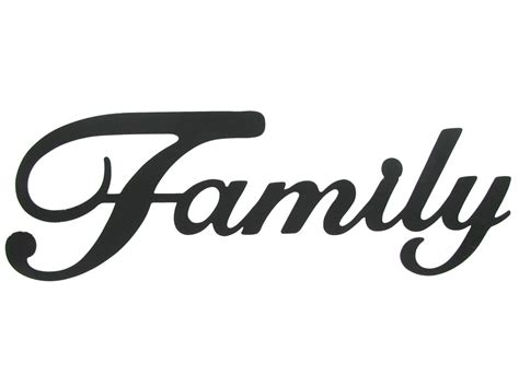 Family Word Images Clipart Panda Free