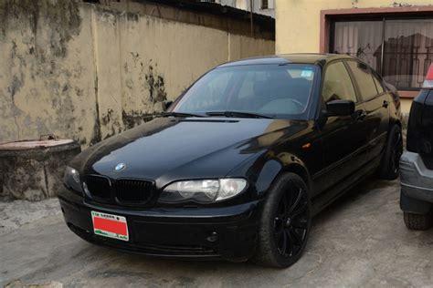 2002 Bmw 3 Series (325xi) For Sale N600,000. Black On