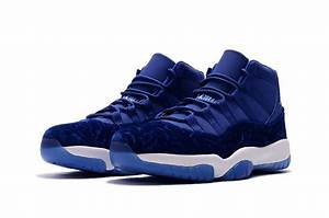 "New Jordans 2017 Air Jordan 11 XI ""Blue Velvet"" Upper ..."