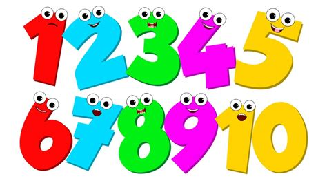 Number Song  Number Counting 1 To 10  Video For Children By Kids Baby Club Youtube