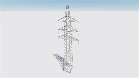 traliccio dwg dwg voltage pylon