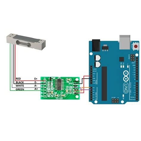2pcs hx711 ad module 20kg scale load cell digital weighing