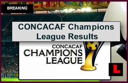 concacaf champions league  results ignite soccer