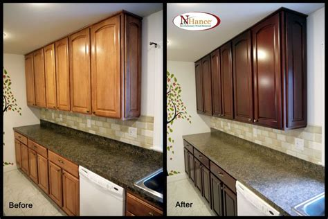 kitchens with cabinets best 25 restaining kitchen cabinets ideas on 6614