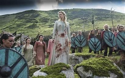 Vikings Lagertha Lothbrok Wallpapers Katheryn Winnick Shield