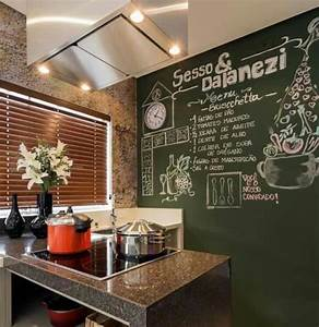 pared pizarra para cocina paredes pizarra pinterest With what kind of paint to use on kitchen cabinets for andy warhol wall art