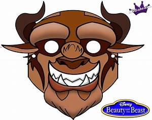 Free Printable Halloween Mask Of Beast From Beauty and the ...