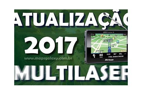 download mapa gps multilaser tracker tv