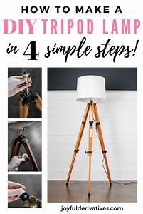 How, To, Make, A, Floor, Lamp, Out, Of, A, Tripod
