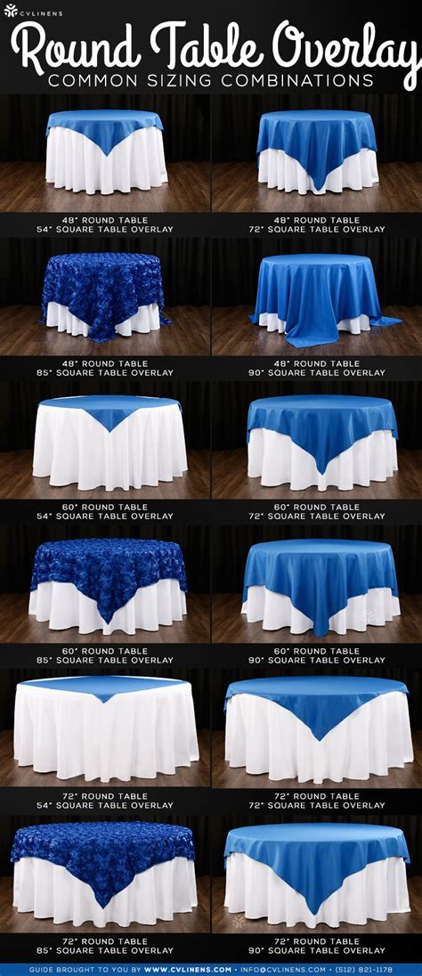 Choosing the Right Tablecloth Size Wedding table