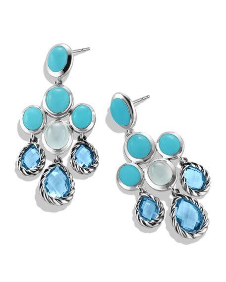 Topaz Chandelier Earrings by David Yurman Chandelier Earrings With Blue Topaz