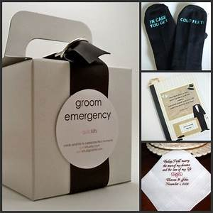 groom gifts niche white bridal loft With gift for groom on wedding day