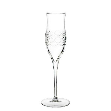 Bicchieri Da Cristallo by Bicchiere Da Grappa In Cristallo Rete Piatti Adriano