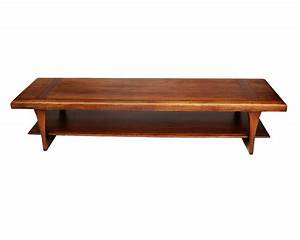 Mid Century Modern Lane Two Tier Coffee Table