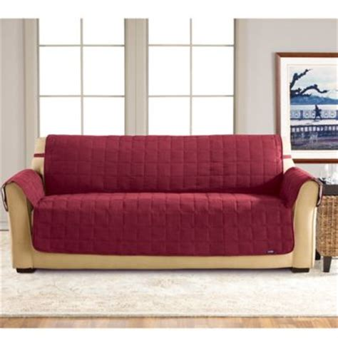 fit waterproof sofa slipcover bed bath