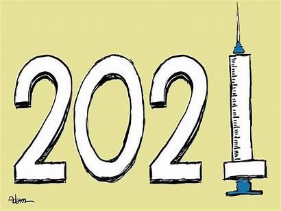 Vaccine Cartoon Covid Cartoons Hope Brings Because