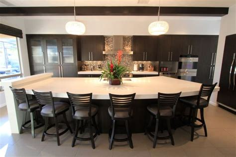 kitchen island seating ideas  pinterest kitchen island  seating long kitchen